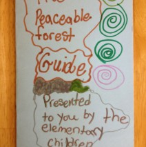 Children in Animal Masks:  Montessori and The Peaceable Forest